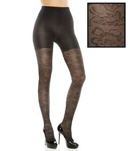 New ASSETS Red Hot Label by SPANX : Floral Textured Shaping Tights Style # 1101