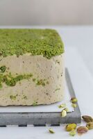 Halva pistachio natural dessert from jerusalem 300g free shipping