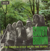 """SAVOY BROWN ~ I'm Tired/Stay With Me Baby ~ 1969 Spanish Decca 7"""" vinyl single"""