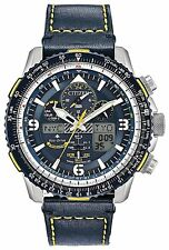 Citizen JY8078-01L Blue Angels Atomic Skyhawk Promaster Eco Drive Watch blue