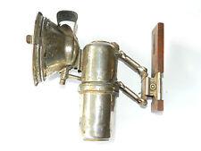 Antique Herm.Riemann PFADFINDER GAS LAMP Adjustable Light, Germany ca.1900s