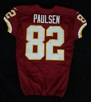 #82 Logan Paulsen of Redskins NFL Locker Room Game Issued Worn Jersey