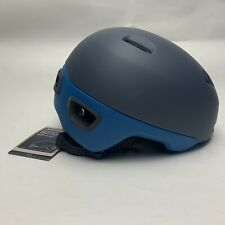Giro Sutton - Urban Bike Cycling Helmet Adult 8 Vents Reflective Visor Grey Blue