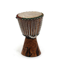 "Genuine African  D'Jembe Drum: Small 10-12"",  Delivery In About 8 Days"
