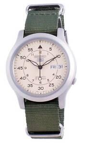 Seiko 5 Military SNK803K2-var-NATOS12 Automatic Nylon Strap Men's Watch