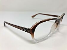 Ray Ban RB4153 821/M2 Sunglasses Frame Italy Translucent Brown And Clear BU14