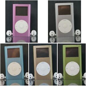 Apple iPod Mini 1st & 2nd Gen - 4GB 6GB - All Colours