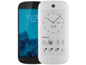 NEW Yota Phone 2 - 32GB - White (Unlocked) Smartphone