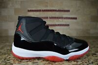 NEW Nike Air Jordan 11 XI  2019 Bred 378037-061 Size 10.5 US Black White Red