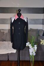 Prada Damenmantel aus Viskose NP1690€ Gr38 schwarz/rosa/blau *NEU*