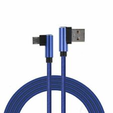 L Shape USB Micro / 8Pin Right Angle 90 Degree Data Sync Cable Fast Charging