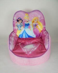 Disney Princess Kids Bean Bag Chair Cinderella, Snow White, Rapunzel/Tangled