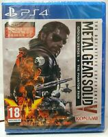 [ PS4 ] Metal Gear Solid V 5 The Definitive Experience KONAMI Nuovo PAL ITALIANO