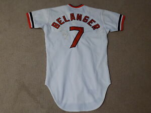 Mark Belanger Game Worn Jersey 1977 Baltimore Orioles