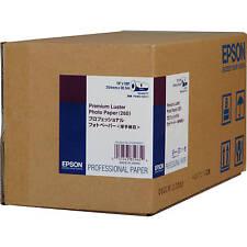 """Epson S042077 Premium Luster Photo Inkjet Paper (10"""" x 100' Roll)"""