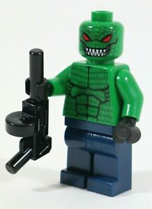 RARE LEGO BATMAN KILLER CROC MINIFIGURE 7780 DC SUPERHEROES - NEW GENUINE