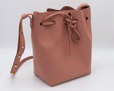 Mansur Gavriel Calf Leather Mini Bucket Bag - BLUSH