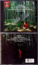 Anne-Sophie MUTTER Signed VIVALDI Die Vier Jahreszeiten KARAJAN CD Four Seasons