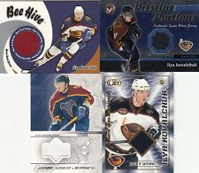 New listing 2004 Bee Hive, Topps, UD, Head Up Kovalchuk Jersey x 4 Lot