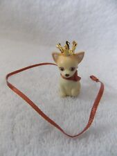 Barbie Doll Birthstone Beauties Miss Topaz Chihuahua Dog & Leash Only
