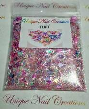 Limited Edition Glitter Mix~FLIRT* Comes W Alloy~ Nail Art