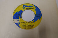 """WIGAN'S OVATION - SKIING IN THE SNOW NORTHERN SOUL 7"""" SINGLE 1975 SRL. 1122 VG+"""