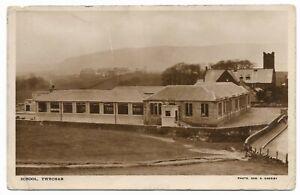 POSTCARDS-SCOTLAND-TWECHAR-RP. The School.