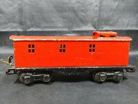 Steel / Tinplate Caboose o27 Gauge Model Train - Vintage