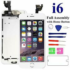 Nroech Screen Replacement for iPhone 6 White with Home Button LCD Touch Scree...