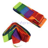 Sale 10M Super Nylon Rainbow Kite Tail Line Sports Kite Accessory New