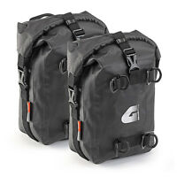 GIVI PAIR OF BAGS FOR CRASH BAR 5 L DOUBLE ENGINE GUARD BAGS T513