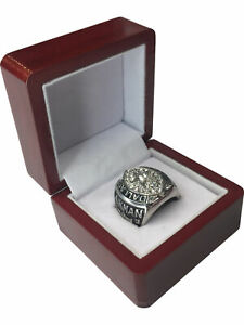 1992 Dallas Cowboys AIKMAN NFL Super Bowl SP Brass Championship Ring & Wood Box