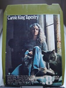 CAROLE KING - TAPESTRY - 8 Track Tape in Good Condition.