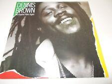DENNIS BROWN - THE PROPHET RIDES AGAIN - CANADIAN 10 TRK VINYL LP - REGGAE -