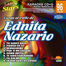 Karaoke Latin Stars 96 Ednita Nazario Vol.1