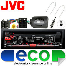 Renault Scenic MK2 06-09 JVC Bluetooth CD AUX USB Car Stereo Steering Wheel Kit