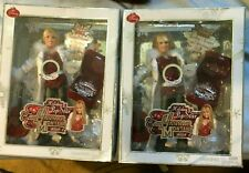 New Lot of (2) Hanna Montana Holiday Singing Disney Pop Star With Guitar  2008