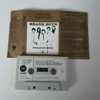 BEACH BOYS THE GREATEST HITS CASSETTE TAPE 1970 PAPER LABEL EMI CAPITOL UK