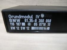 bmw e36 compact grundmodul IV 4 steuergerät GMIV 8360060 hw12 sw12