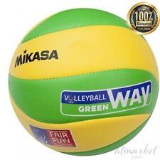 Mikasa volleyball No.5 European Federation ball game yellow / green MVA 200 EV