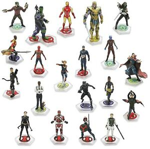 Disney Marvel Avengers The Infinity Saga 20-Piece PVC Figure Play Set