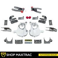 "MaxTrac 2""/4"" Drop Lowering Kit KA331524M For 2016-2018 Chevy Silverado 1500 2WD"