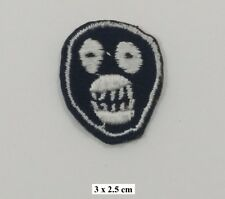 Mighty Boosh Mask Logo ,EMBROIDERED Iron On/Sew On Patch/Badge