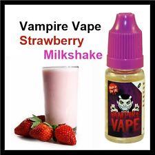 Vampire Vape *4 x 10ml - Strawberry milkshake 12mg E-Liquid
