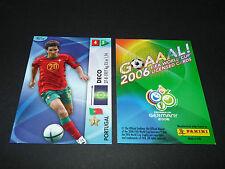 DECO PORTUGAL PANINI CARD FOOTBALL GERMANY 2006 WM FIFA WORLD CUP