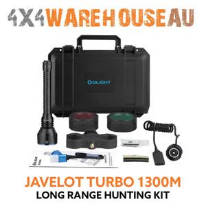 Olight Javelot Turbo  Hunting Kit Black 1300m Long Range LED Torch JAVELOT-TURBO