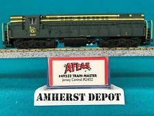 49532 Jersey Central Atlas N Scale Trainmaster DCC Ready NIB