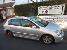 HONDA CIVIC 5DOOR PASSENGER ELECTRIC DOOR MIRROR SILVER 2005 BREAKING CAR SPARES