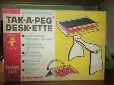 Nos Transgram Tak-A-Peg Desk-Ette Childs Desk-Iob-Sealed