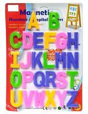 Large 8cm Magnetic Alphabet Letters Fridge Magnets Toys Kids Learning